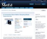 A Convective Storm Matrix: Buoyancy/Shear Dependencies