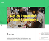 Design Expedition Guide: Experiment