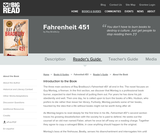 Fahrenheit 451 by Ray Bradbury - Reader's Guide