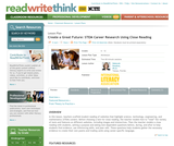 Create a Great Future: STEM Career Research Using Close Reading