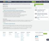 SLASL Module 1: Selecting Standards & Creating Learning Objectives