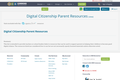 Digital Citizenship Parent Resources