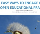Easy ways to engage with open educational practice