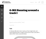 Running Around a track I