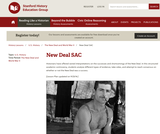 Reading Like a Historian: New Deal SAC