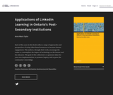 Applications of LinkedIn Learning in Ontario's Post-Secondary Institutions