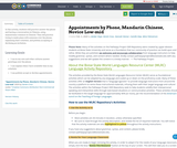Appointments by Phone, Mandarin Chinese, Novice Low-mid