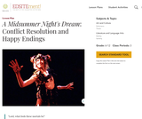 A Midsummer Night's Dream: Conflict Resolution and Happy Endings