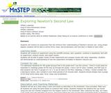 Exploring Newton's Second Law
