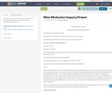 Miss Michaela's Inquiry Project