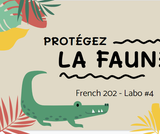 French 202, Lab 4 - Protecting Nature - ONLINE