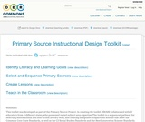 Primary Source Instructional Design Toolkit