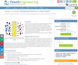 Designing Polymers to Clean Water