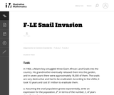 Snail Invasion