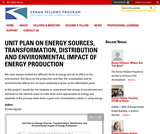 Unit Plan on Energy Sources, Transformation, Distribution and Environmental Impact of Energy Production