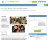 Preconditioning Balloons