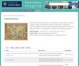 Great Writers Inspire: Colonial Writers