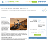 Mars Rover App Creation