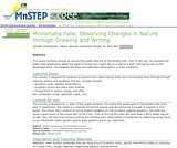 Minnehaha Falls: Observing Changes in Nature through Drawing and Writing