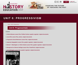 Reading Like a Historian, Unit 8: Progressivism