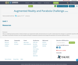 Augmented Reality and Parabola Challenge