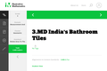 3.MD India's Bathroom Tiles