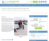 Energy and the Pogo Stick