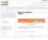 Properties of Matter Videos