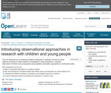 Introducing Observational Approaches in Research With Children and Young People