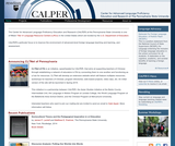 Center for Advanced Language Proficiency Education and Research (CALPER)