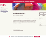Writing Rubrics: Grade K