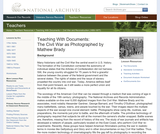 The Civil War as Photographed by Mathew Brady
