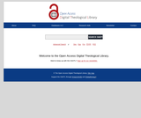 Open Access Digital Theological Library for Theology, Religious Studies, and Related Disciplines