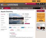 Aquatic Chemistry, Fall 2005