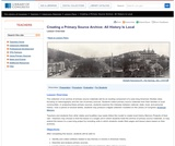 Creating a Primary Source Archive: All History Is Local