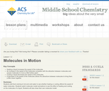 Middle School Chemistry: Molecules in Motion