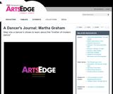 A Dancer's Journal: Martha Graham