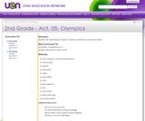 2nd Grade-Act. 05: Olympics