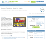 Population Growth in Yeasts