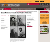 Black Matters: Introduction to Black Studies, Fall 2009