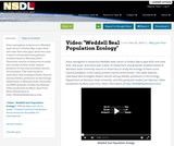 """Video: """"Weddell Seal Population Ecology"""""""