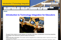 Introduction to Technology Integration for Educators