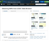 Obtaining SNPs from UCSC Table Browser