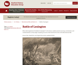 Reading Like a Historian: Battle of Lexington