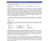 "Bayes' Theorem: ""Adjustment of Subjective Confidence"""