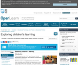 Exploring Children's Learning