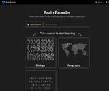 Brain Brooder OpenStax Biology Course
