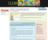 12 Steps to a Sustainable High School