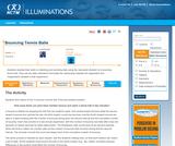 Bouncing Tennis Balls - NCTM Illuminations