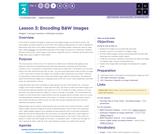 CS Principles 2019-2020 2.3: Encoding B&W Images